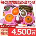 [ギフト]【果物 詰め合わせ】旬の果物詰め合わせ 火 お祝いフルーツセット 送料無料 あす楽対応 お ...