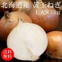 北海道北見産黄玉ねぎ 2Lx3kg [使いやすい量]【国産たまねぎ】【野菜便】【常温便】【送料無料】