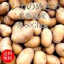 北海道産インカのめざめ Sx3kg [じゃがいも 使いやすい量 野菜便 常温便 送料無料]