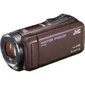 【★★】【送料無料】VICTOR(ビクター) GZ-R300-T SD対応 32GBメモリー内蔵 5m防水・防塵・耐衝撃フルハイビジョンビデオカメラ(ブラウン)【kk9n0d18p】