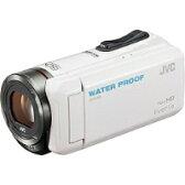 【★★】【送料無料】VICTOR(ビクター) GZ-R300-W SD対応 32GBメモリー内蔵 5m防水・防塵・耐衝撃フルハイビジョンビデオカメラ(ホワイト)【kk9n0d18p】
