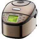 【延長保証別途承ります】MITSUBISHI(三菱電機) 超音波連続圧力IHジャー炊飯器炭炊釜(5.5合)NJ-UX10-T 送料区分:A
