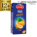 P3倍送料無料 Juver フベル オレンジ100%ジュース 1L×12本 ケース販売 長S誰でもP3倍は 4/9 20:00 ~ 4/16 1:59まで