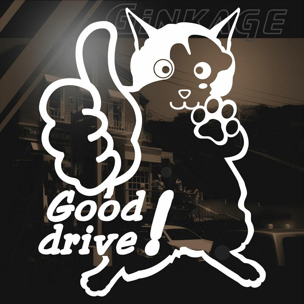 Good Drive 猫 ステッカー グッドラ...の紹介画像2