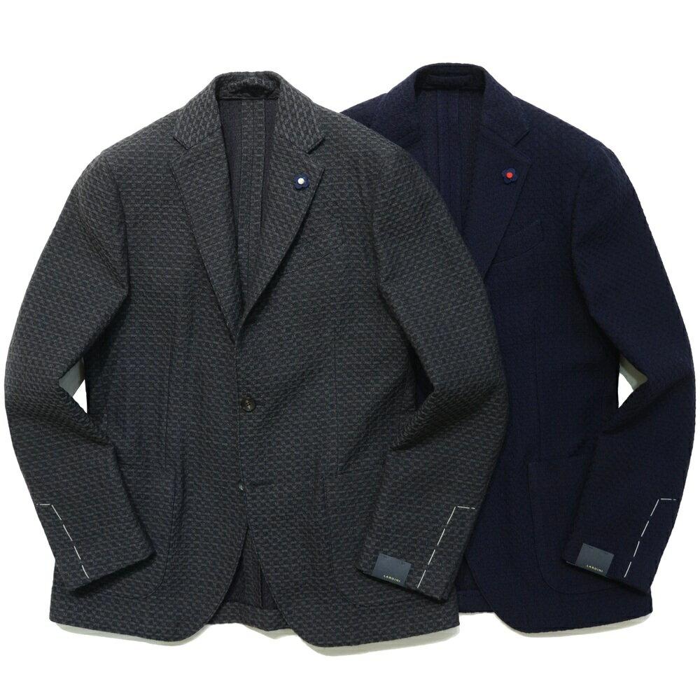 LARDINI(ラルディーニ)EASYイージー ウールジャガードチェック3Bジャケット JJ903Q/A47552 17062002022
