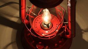 【電球仕様40W】オイルランプオイルランタンカンテラデンキスタンドハリケーンランタン大型デイツ80赤BVU052-RD【RCP】【05P13Dec14】