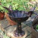お庭にコンパクトなバードバス鉢カバーとしても屋外用灰皿(スタンド灰皿)でも使い頂けます。バードバス ツインバード