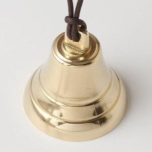 キャンプベルカウベルーPB真鍮呼び鈴・テーブルベル・ハイキングベル・熊よけベル・介護用ベル落としても壊れにくい金属製
