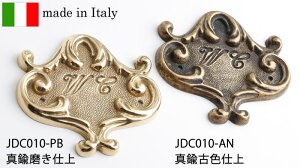 銘板サインWCドア表示toiletトイレサイン室名板トイレット真鍮製無垢イタリア製