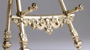 真鍮製イーゼル写真立て額立て皿たてインペリアルS-PBJSI036-PB