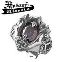 アルテミスクラシック ミスティックシールドリングRD フリーサイズ Artemis Classic アルテミスクラッシック リング メンズ シルバー925 メンズリング シルバーリング 男性 Men 039 s Ring メンズ指輪 男性用 指輪 ブランド