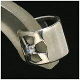 透かし クロスジルコニア シルバーイヤーカフ(イヤーカフス) (1P/片耳用)/メンズ ピアス/銀の蔵ピアス/Men''s Pierce EarRing/男性用 耳飾り/メンスピア