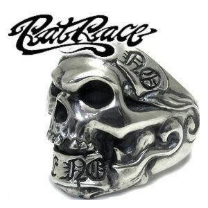 RAT RACE ラットレース ギブノーテイクノースカル 1 シルバーリング 7〜30号 スカル リング メンズ スカルリング ドクロ 骸骨 シルバー925 男性用 指輪 銀 メンズリング 男性用指輪 ブランド プレゼント 人気 彼氏 おしゃれ