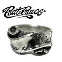 RAT RACE ラットレース メッセージオンリボン ナロー シルバーリング 7〜30号 リング メンズ リボン シルバー925 男性用 指輪 銀 メン..