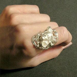 神話 花の女神クロリスリング 7〜23号 指輪...の紹介画像3
