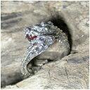 双頭の龍リング カーネリアン 9号〜17号 指輪 リング Ringメンズ レディース 男性女性指輪 プレゼント 人気 かわいい おしゃれ