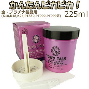 TOWNTALK(タウントーク)SILVERSPARKLEシルバークリーナーキット225ml