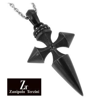 黑色十字架外科不銹鋼項鍊不銹鋼配件男士項鍊男士項鍊男士項鍊十字架項鍊男人項鍊
