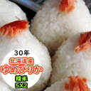 【特売価格にてご提供!】【送料無料】平成30年産 精米 北海道産ゆめぴりか 10kg (5Kgx2)