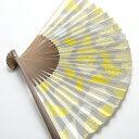 高級紙扇子 女性用 みのや扇舗 ファンファン /fan/fun 日本製【京都ぎんやんま】