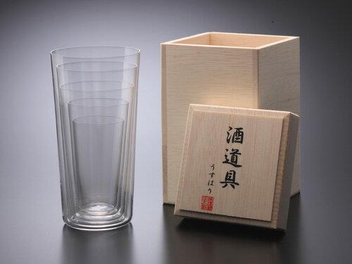 うすはりグラス 酒道具 〔松徳硝子〕