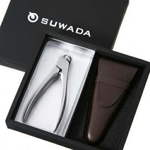 【メールマガジン希望ご選択で5%OFF!】 SUWADA スワダ つめ切り ギフトボックス CLASSIC (L) 革ケース付き (ギフト箱入りセット)