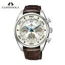 【ポイント10倍】【自動巻】カンパノラ メカニカルコレクション クロノグラフ NZ1001-09A CAMPANOLA Mechanical Collection 送料無料 腕時計