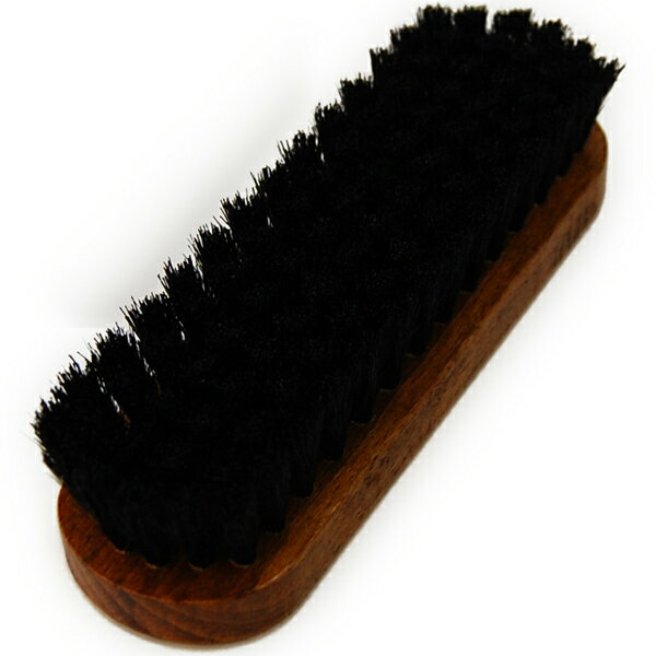 靴磨き 豚毛ブラシ コロンブス ジャーマンブラシ...の商品画像