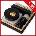靴磨きセット サフィール ノワール クレム1925 セット。シューケアセットの靴クリーム、サフィール ノワール クレム1925 は、保湿効果や柔軟性を与える効果...