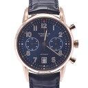 TIFFANY&Co. ティファニー CT60 ボーイズ PG/革 腕時計 自動巻き ネイビー文字盤 Aランク 中古 銀蔵