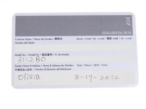 ルミノックス・LUMINOXブラックアウト3152.BOクオーツ【中古】◇