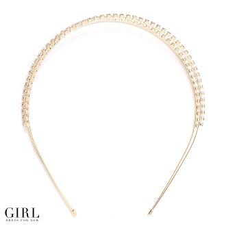 プリンセスカチューシャ shimmering rhinestone was 2. Simple and easy to use. Ideal for dress-up style.
