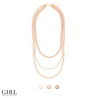 Accent code 3 ロングパールネックレス ★ wedding and dating ★ Pearl Necklace necklaces pearl Pearl necklace party party party formal mother's day gifts mother's day gifts 10P13oct13_b