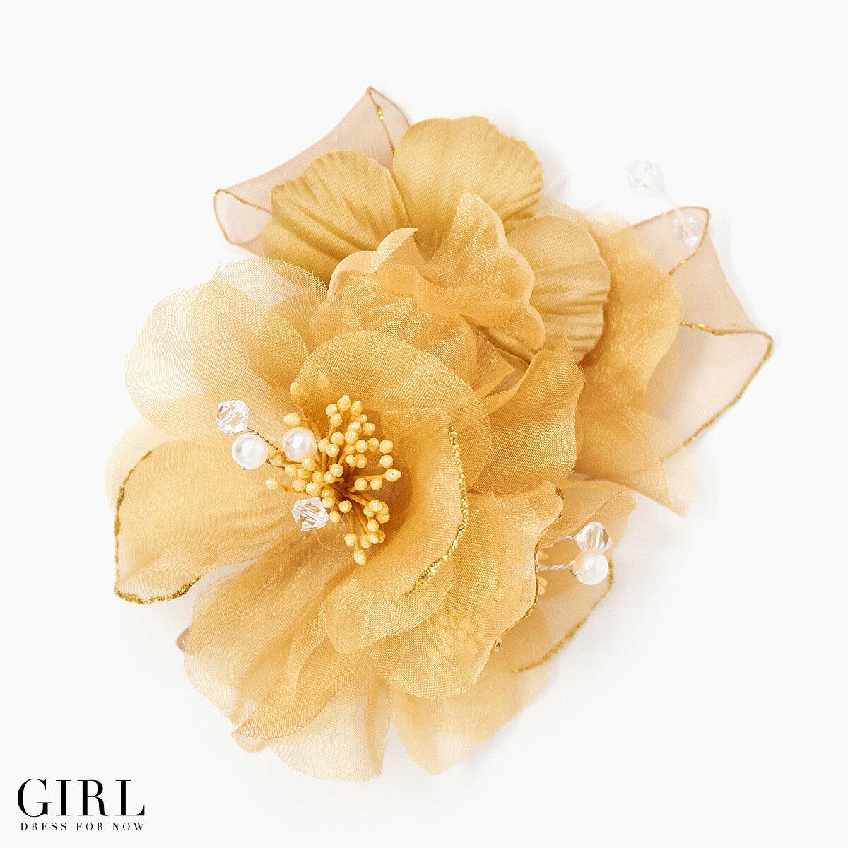 【入学式・卒業式】コサージュ フラワーコサージュ 結婚式 パーティー フォーマル パール …...:girl-k:10005921
