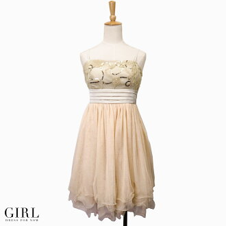 Tulle flower motif dress ☆ invite wedding ceremony party formal dress party dress dress party second party meeting dress - mail order guest dress Rakuten clothes clothes invite clothes dress party dress which want to enjoy a feeling softly