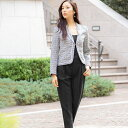 【30%OFF】【ご自宅試着】スーツ レディース フォーマル セットアップ ママ 母 卒業式 大きい...