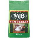 ショッピングコーヒー MJB アーミーグリーン 900g コーヒー(粉)