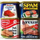 ミッドランド・ホーメル・チューリップ・スパムのポーク4缶セット!【メール便不可】
