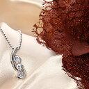 キュービックジルコニア ジュエリー3石ネックレス「ファンタジー」|プレゼント|ギフト|首飾り|アクセサリー|
