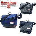 メッセンジャーバッグ メンズ ハリスツイード HarrisTweed 17372000 ショルダー 通学 バッグ 旅行バッグ レディス ユニセックス