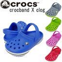 送料無料 クロックス キッズ クロックバンド 子供 ベビー サンダル crocs crocband Xclog 靴 シューズ 男女兼用 男の子 女の子 あす楽