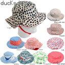 送料無料 帽子 キッズ UV ハット 子供 Maching Hat RHA010115 ducksday 男の子 女の子
