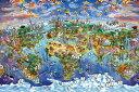 アートポスター ポスター インテリア ワールドワンダーマップ お部屋 お店のデイスプレイに 新生活 模様替え