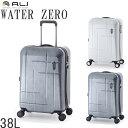 送料無料 キャリーケース 機内持ち込み スーツケース 38L A.L.I アジアラゲージ WTZ-1533K WATER ZERO ウォーターゼロ TSAロック トラベルバッグ 旅行バッグ ビジネスキャリー 旅行 出張