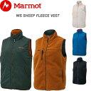 Marmot マーモット フリース レディース ベスト リバーシブル WS SHEEP FLEECE VEST 全4色 M/L TOWOJL39 もこもこ ボア シープ フリースベスト 防寒 ブランド おしゃれ アウトドア ウェア ノースリーブ 前開き ナイロン 送料無料