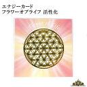 エナジーカード フラワーオブライフ 活性化【神聖 幾何 学 カード エネルギー 占い セット 効果