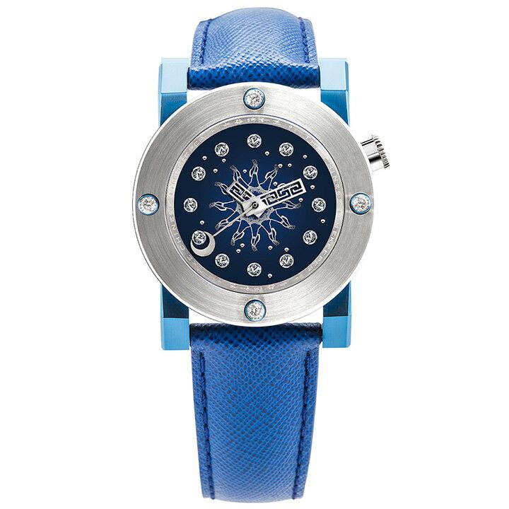 THE CHINESE TIMEKEEPER(チャイニーズタイムキーパー)CTK102 Lady Diamond Sky Map Automatic ブルー/シルバー/ブルー ダイヤモンド レディース 機械式腕時計 [日本正規総代理店][正規輸入品][送料無料]文字盤をダイヤモンドの星空にデザインした女性用機械式腕時計