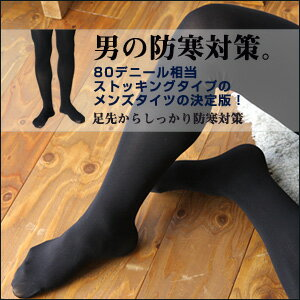 N-platz - Men's Tights / Men's Panty Stockings  [ 80 Denier ]  / Keep warm / Heat Retention / Protection against cold / Winter / Made in Japan / 3074-891 / All Items -Point x 10 !!