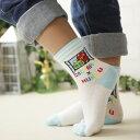 ガチャピン × ムック 子供 キッズ ソックス 靴下 ガチャピン・ムック甲メッシュソックス4167-061全品 ポイント10倍 10P01Oct16