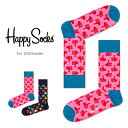 ショッピングソックス Happy Socks ハッピーソックスTHUMBS UP ( サムズ アップ )クルー丈 綿混 ソックス 靴下ユニセックス メンズ 【プレゼント 贈答 ギフト】10117041